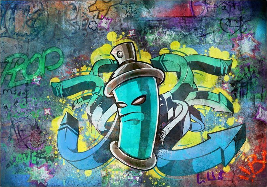 DecoNest Fototapeta - Graffiti maker - 200X140 1
