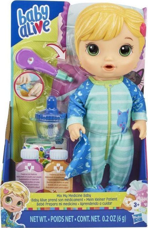Hasbro Lalka Baby Alive Chorowitek Blondynka 1