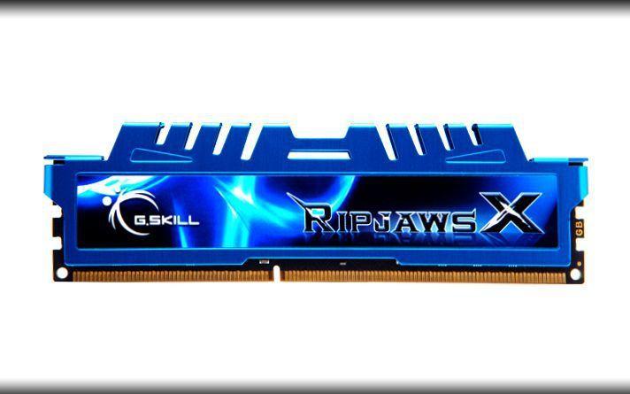 Pamięć G.Skill RipjawsX, DDR3, 8 GB, 1600MHz, CL9 (F3-1600C9S-8GXM) 1
