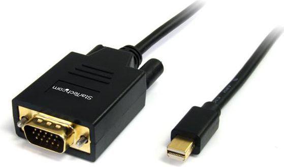 Kabel StarTech DisplayPort Mini - D-Sub (VGA) 1.8m czarny (MDP2VGAMM6) 1