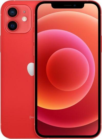 Smartfon Apple iPhone 12 128GB Dual SIM Czerwony (MGJD3) 1