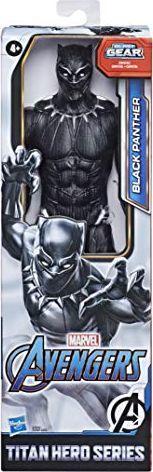 Hasbro Marvel Avengers Titan Hero seria Black Panther, figurka 30 cm z portem Titan Hero Power FX 1