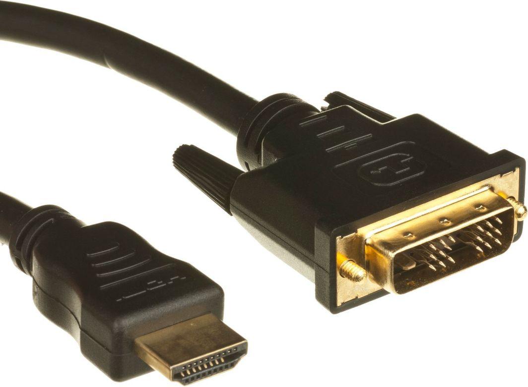 Kabel StarTech HDMI - DVI-D 2m czarny (HDDVIMM2M) 1