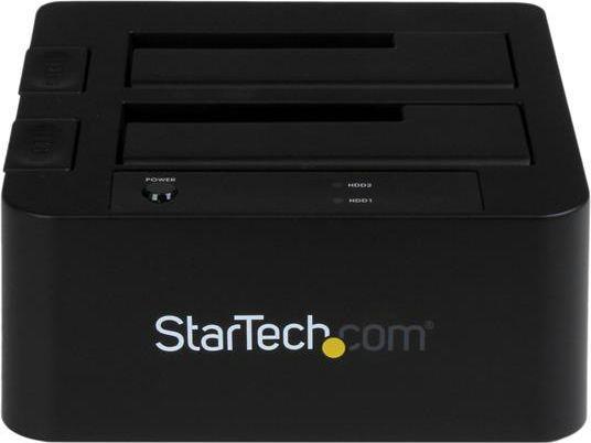 """Stacja dokująca dla dysku twardego StarTech Baza dokująca na dwa dyski, 2,5""""/3,5"""" (SDOCK2U33EB) 1"""