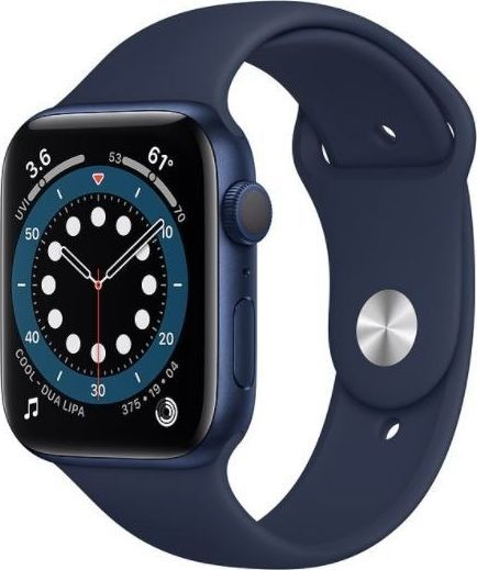 Smartwatch Apple Watch Series 6 GPS + Cellular 40mm Blue Alu Navy Sport Granatowy  (M06Q3WB/A) 1