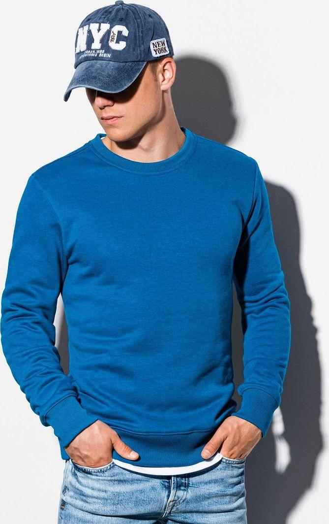 Ombre Bluza męska niebieska r. S (B978) 1