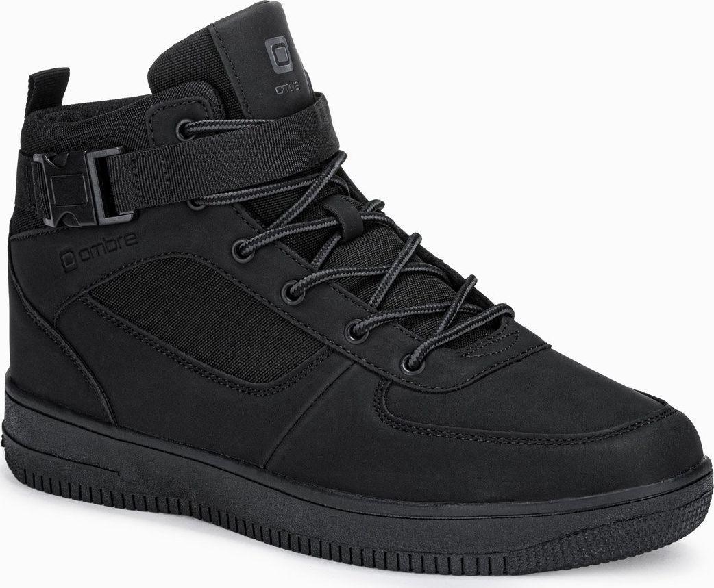 Ombre Buty męskie sneakersy T317 - czarne 42 1