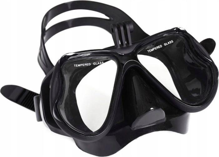 Pan i Pani Gadżet Maska do nurkowania pół-pełna z Uchwytem 1