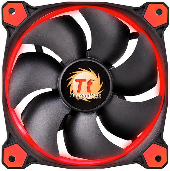 Wentylator Thermaltake Riing 12 LED Czerwony (CL-F038-PL12RE-A) 1
