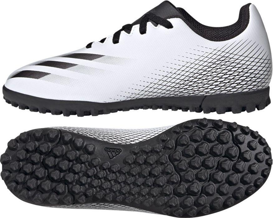 Adidas Buty Adidas X GHOSTED.4 TF J FW6801 FW6801 biały 28 1