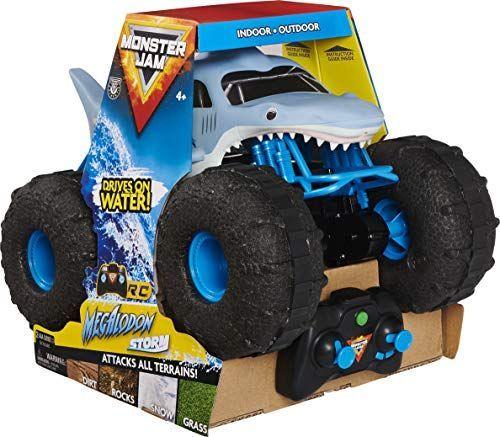 Spin Master Pojazd na radio Monster Jam Megalodon (6056227) 1