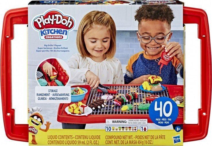 Hasbro Play-Doh Wielki zestaw do grillowania E8742 HASBRO 1