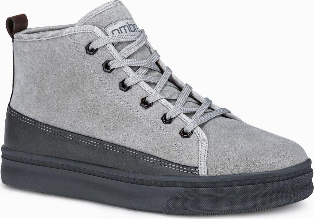 Ombre Buty męskie sneakersy T362 - szare 43 1