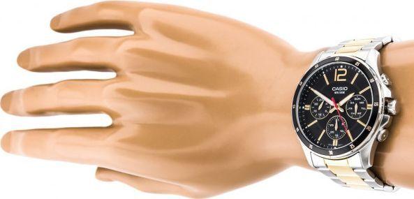 Zegarek Casio ZEGAREK MĘSKI CASIO MTP-1374SG 1AV (zd063d) 1