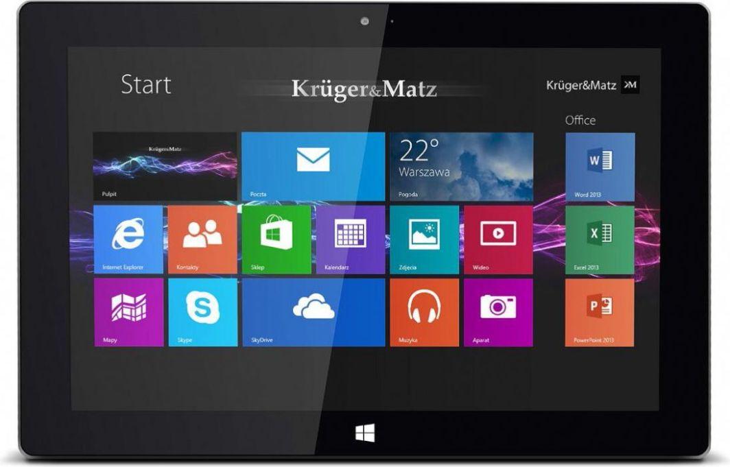 "Tablet Kruger&Matz 10.1"" 32 GB Czarny  (KM1082) 1"