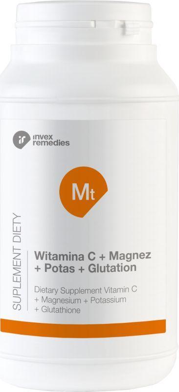 Invex remedies Mt Witamina C+ Magnez+ Potas+ Glutation 450G Invex Remedies 1