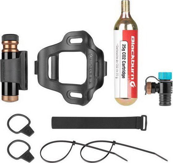 Blackburn Zestaw naprawczy + pompka ręczna CO2 BLACKBURN PRO PLUGGER CO2 TIRE REPAIR KIT czarny 1