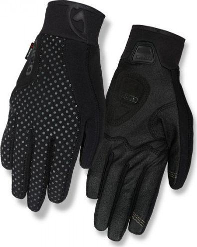 Giro Rękawiczki zimowe GIRO INFERNA długi palec black roz. S (obwód dłoni 153-169 mm / dł. dłoni 153-160 mm) (NEW) 1