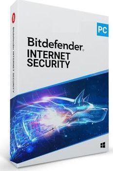 Bitdefender Internet Security 1 urządzenie 12 miesięcy  (2_17303) 1