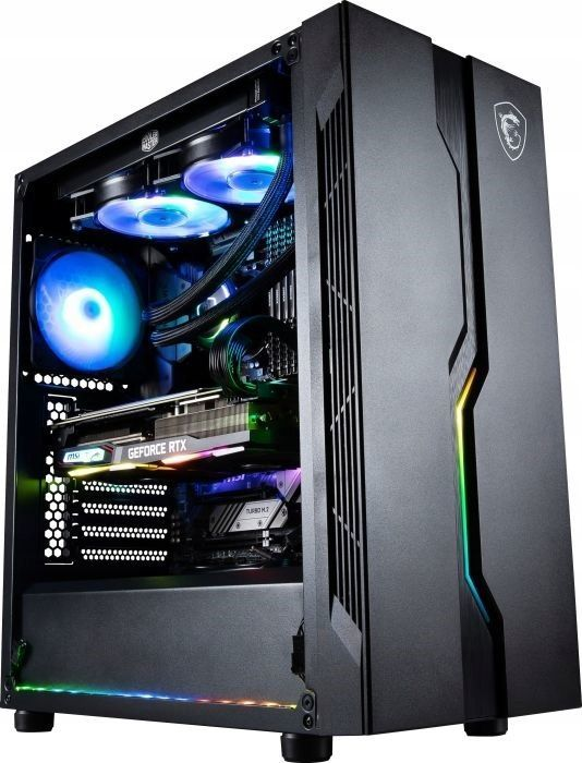 Komputer Vist MSI, Ryzen 5 1600AF, 16 GB, RTX 2060, 480 GB SSD Windows 10 Pro 1