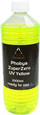 Phobya ZuperZero UV Żółty, 1000ml (30104) 1