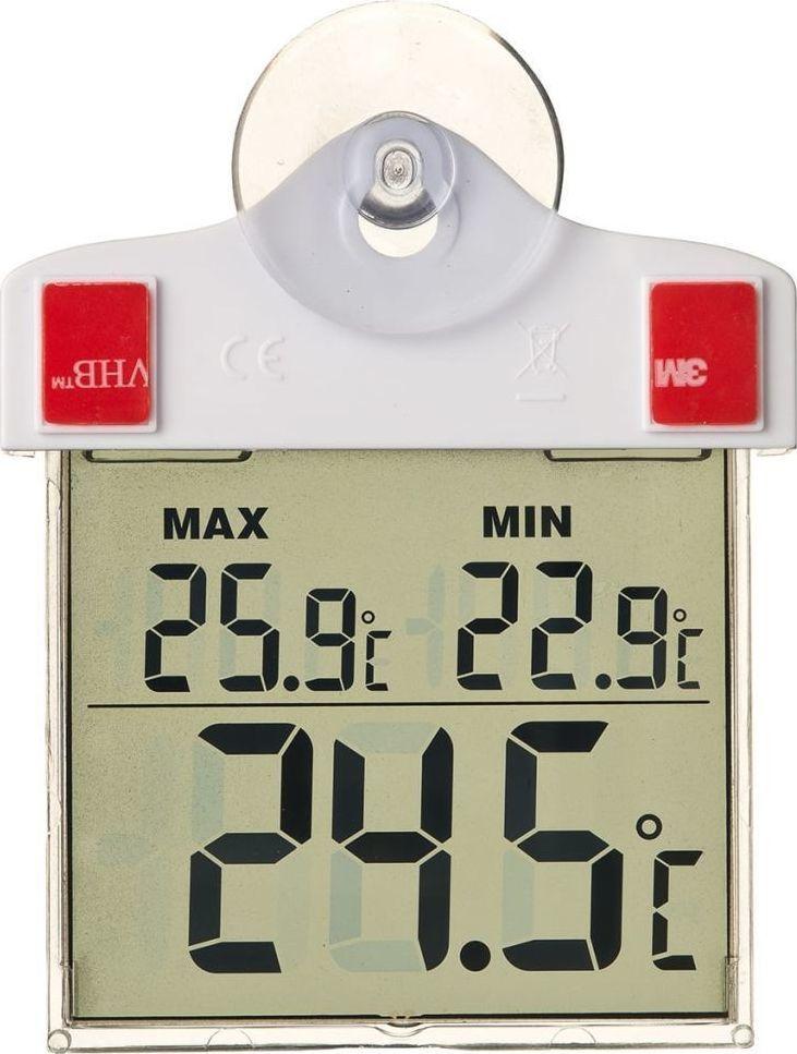 Stacja pogodowa Nature Nature Termometr elektroniczny zaokienny, 13 x 10 x 3 cm, 6080078 1