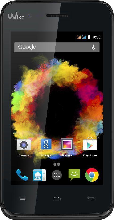 Smartfon Wiko 4 GB Dual SIM Czarny  (SUNSET CZARNY) 1