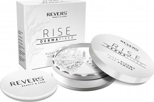 REVERS Puder ryżowy rise derma fixer 15g 1