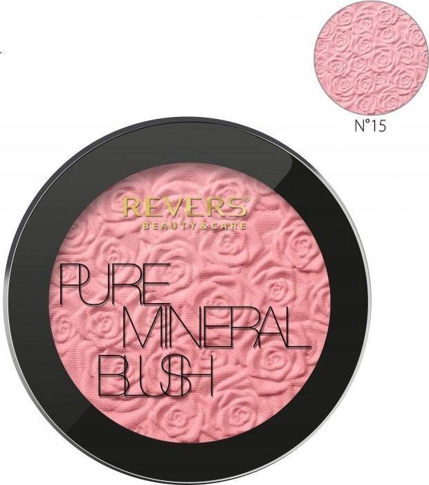 REVERS Revers róż do policzków mineral pure blush nr 15 1