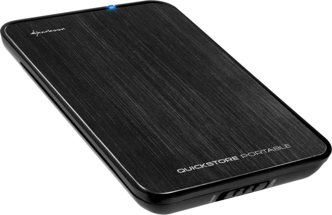 "Kieszeń Sharkoon QuickStore Portable USB 3.0 2.5"" Czarny (4044951010202) 1"