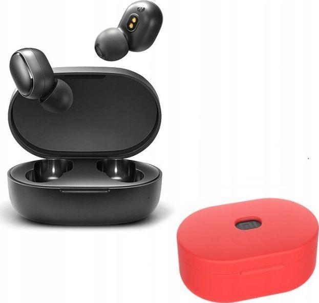 Słuchawki Xiaomi Redmi AirDots 2 + Etui czerwone 1