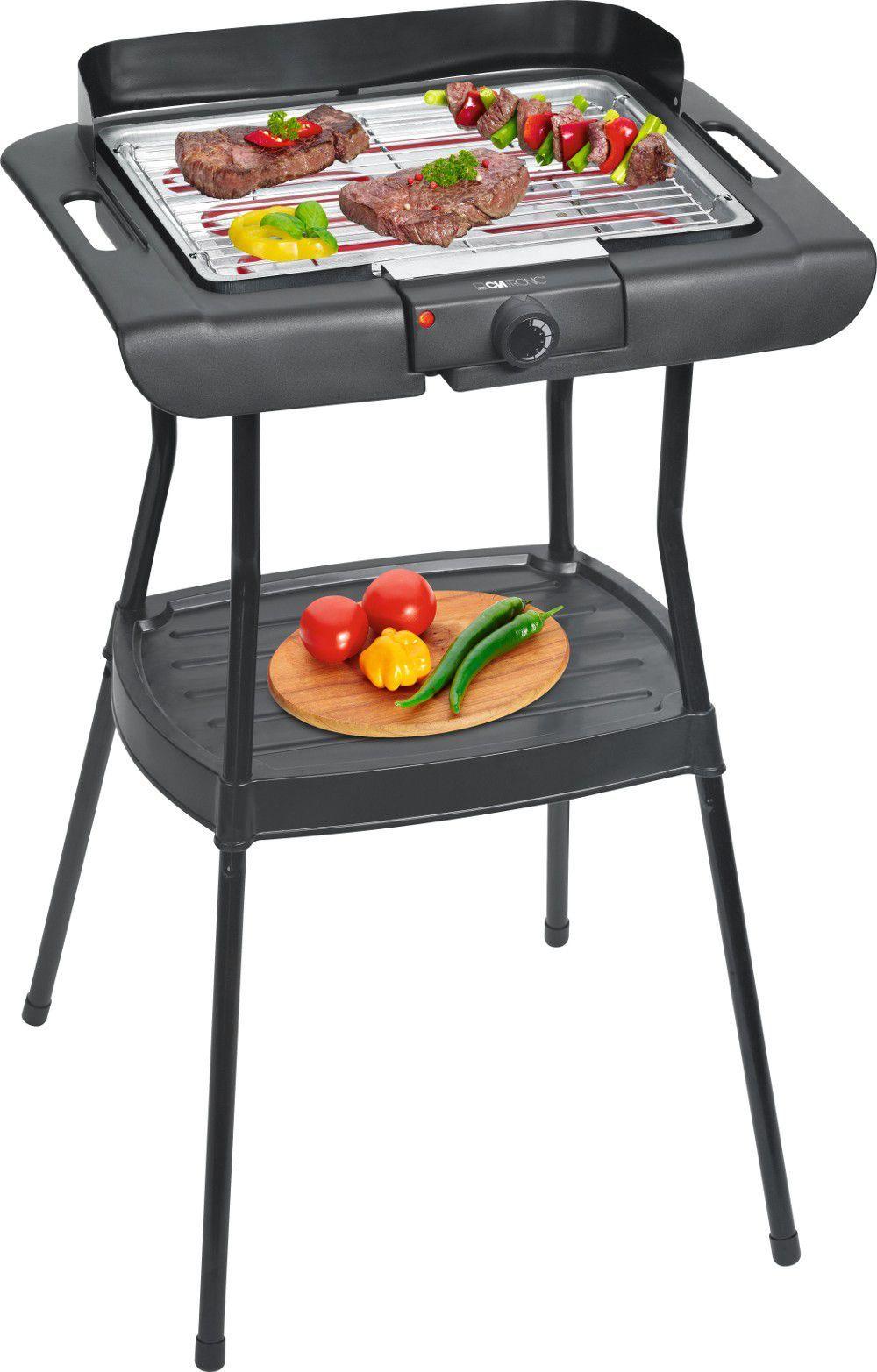 Clatronic Grill 2w1 ogrodowo-stołowy elektryczny ruszt 35x24 cm BQS 3508 1
