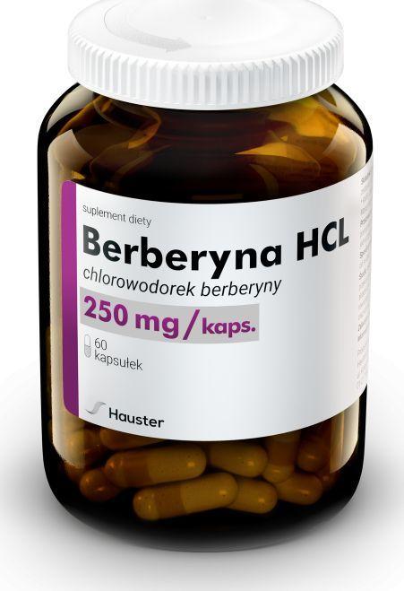 Hauster Berberyna Hcl 250Mg 60 Kaps. Hauster Chlorowodorek Berberyny Ekstrakt Z Berberysu 1