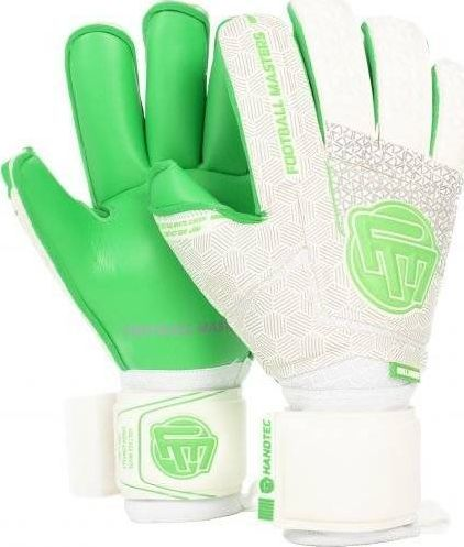 Football Masters VOLTAGE WHITE GREEN CONTACT GRIP 4 MM RF v 3.0 9,5 1