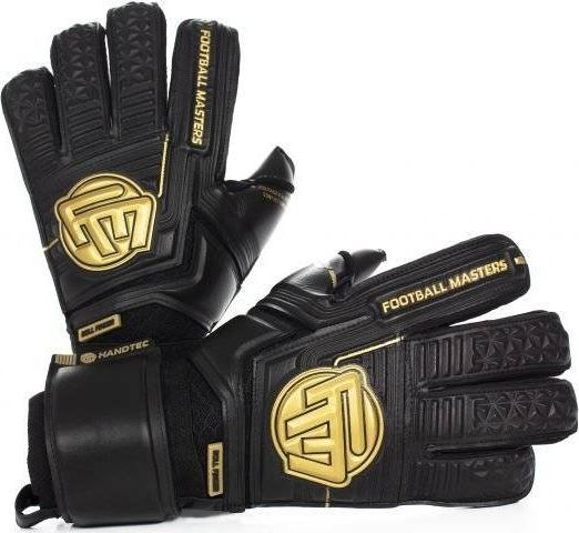 Football Masters VOLTAGE BLACK GOLD CONTACT GRIP 4 MM RF v 3.0 9,5 1