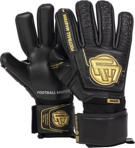 Football Masters VOLTAGE BLACK GOLD CONTACT GRIP 4 MM NC v 3.0 9,5 1