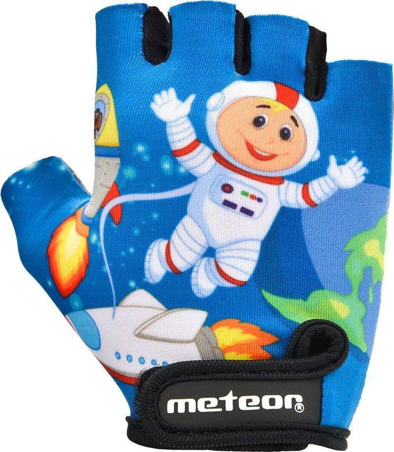 Meteor RĘKAWICZKI ROWEROWE METEOR JUNIOR SPACE XS 1