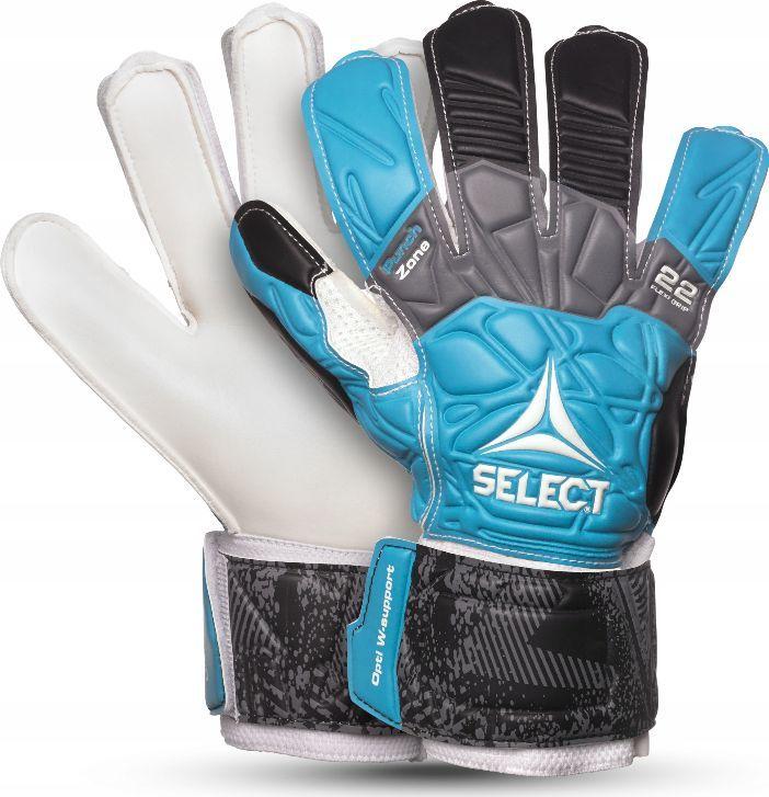Select Niebieskie rękawice bramkarskie Select 22 Flexi Grip 2019 7 1