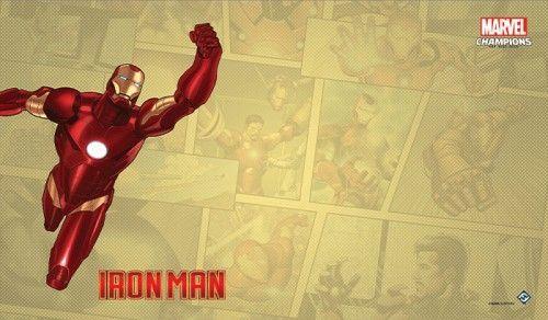 Fantasy Flight Games Marvel Champions: The Game Mat - Iron Man 1