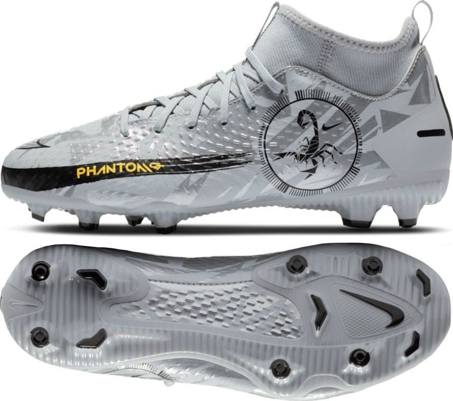Nike Buty Nike Jr. Phantom GT Academy DF SE FG/MG DA2287 001 DA2287 001 szary 33 1