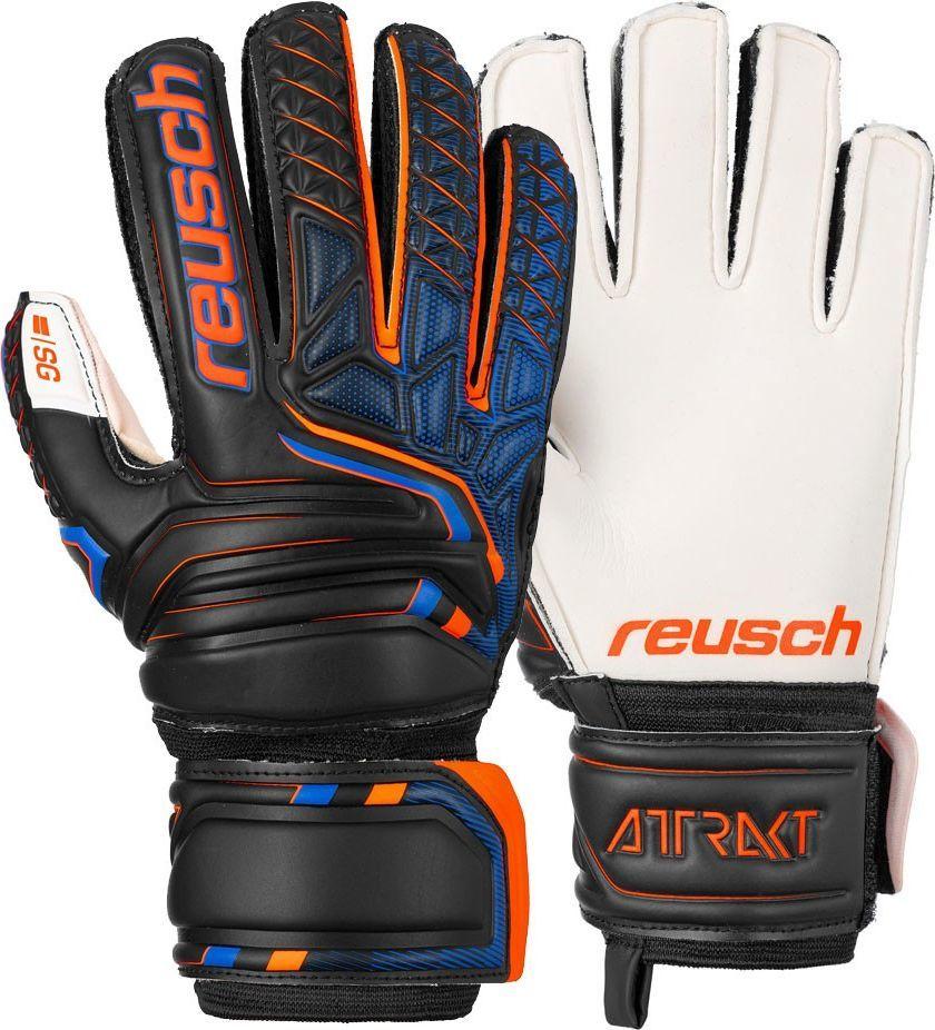 Reusch Rękawice bramkarskie Reusch Attrakt SG Finger Support Jr 5072810 5 1