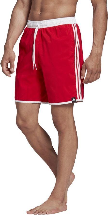 Adidas Kąpielówki adidas 3S CLX FS4009 FS4009 czerwony L 1
