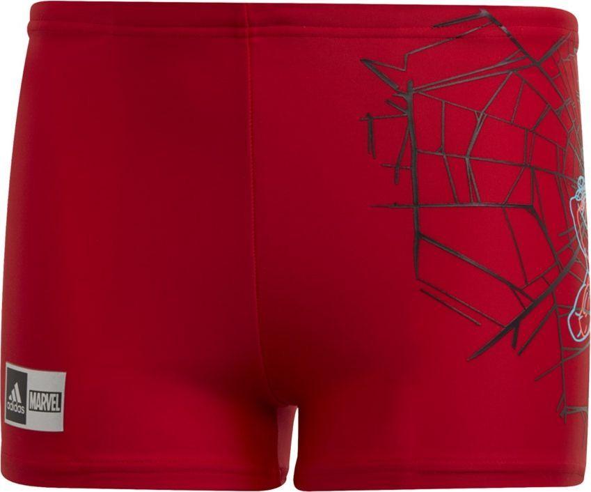 Adidas Kąpielówki adidas YB Spiderman GE2066 GE2066 czerwony 140 cm 1