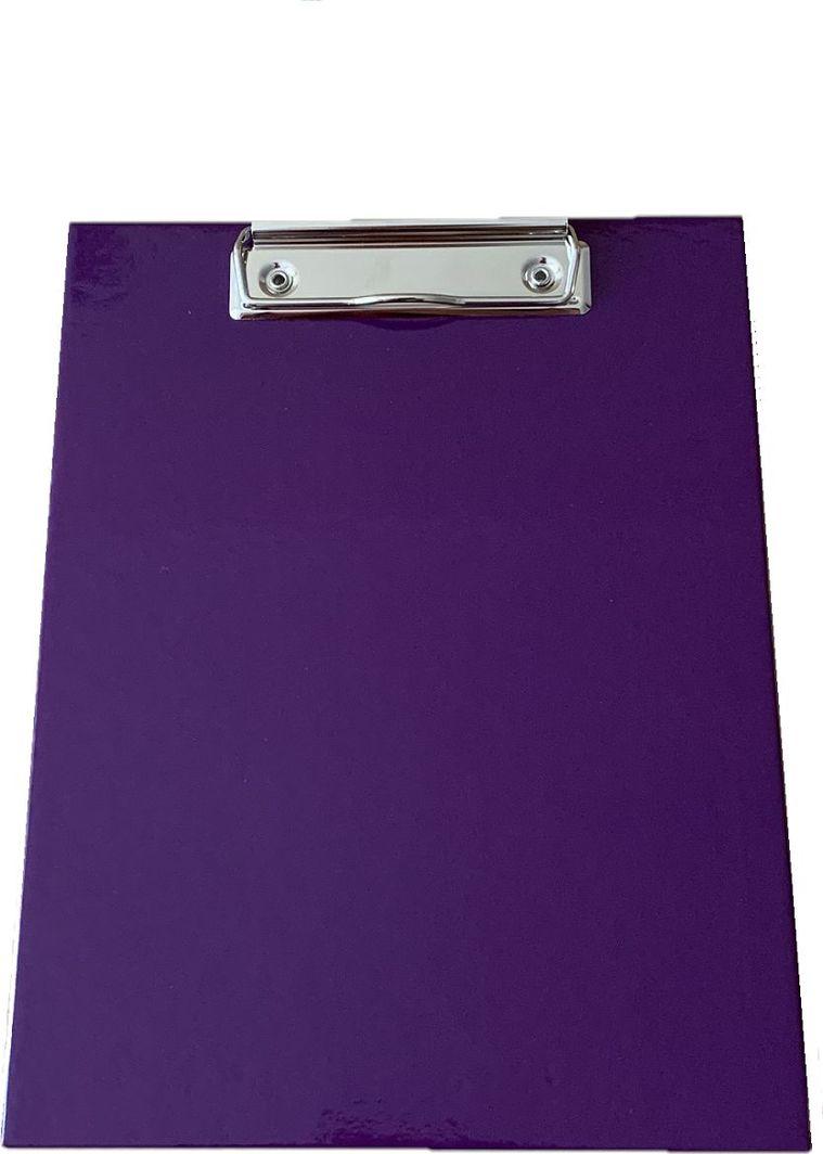 ADELANTE Deska z clipem clipboard A4 tekturowa fioletowa 1