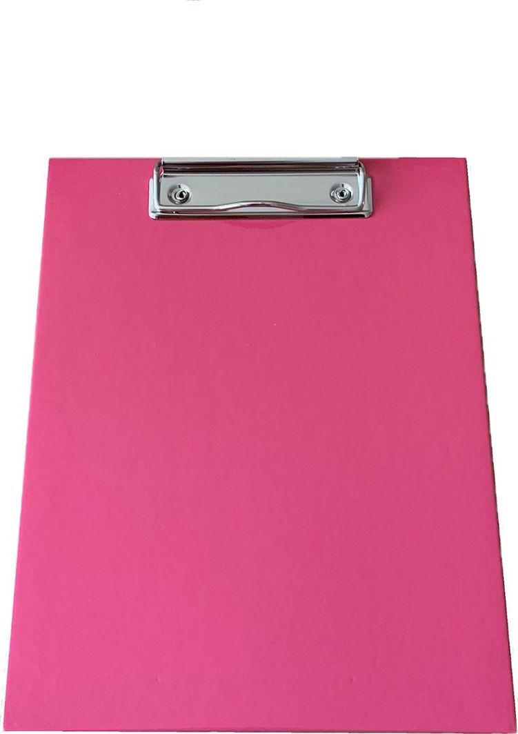 ADELANTE Deska z clipem clipboard A5 tekturowa różowa 1