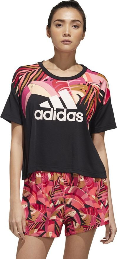 Adidas Koszulka Women X Farm Rio GD9013 czarny S 1
