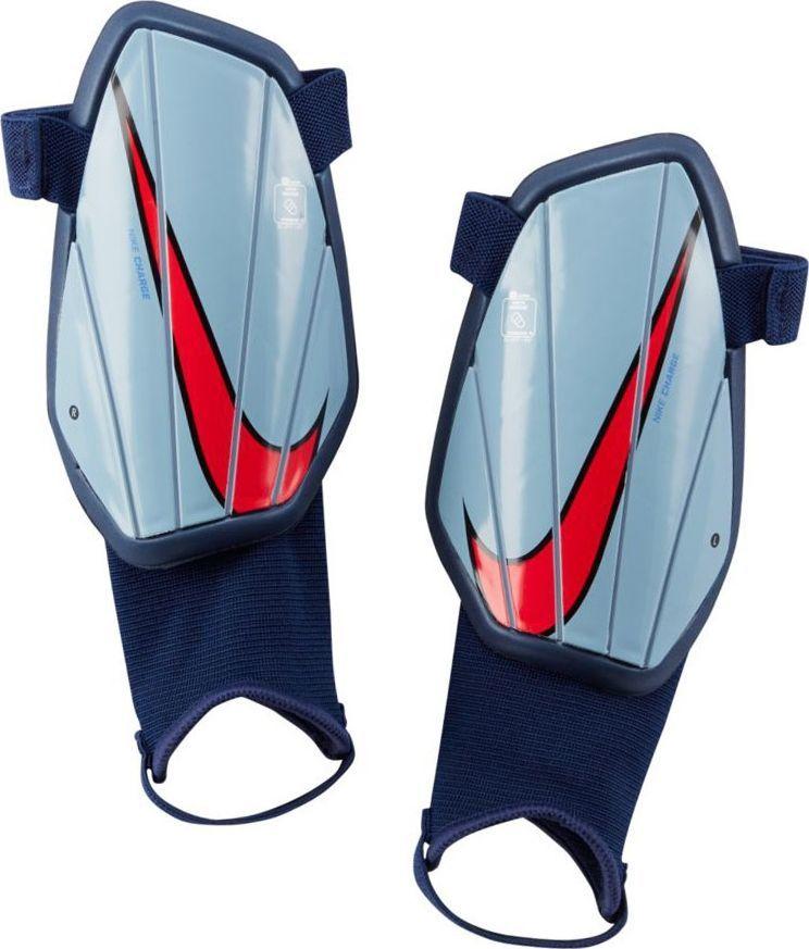 Nike Nagolenniki Nike Charge Y SP2165 492 SP2165 492 niebieski M 1