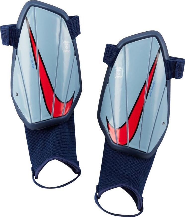 Nike Nagolenniki Nike Charge Y SP2165 492 SP2165 492 niebieski S 1