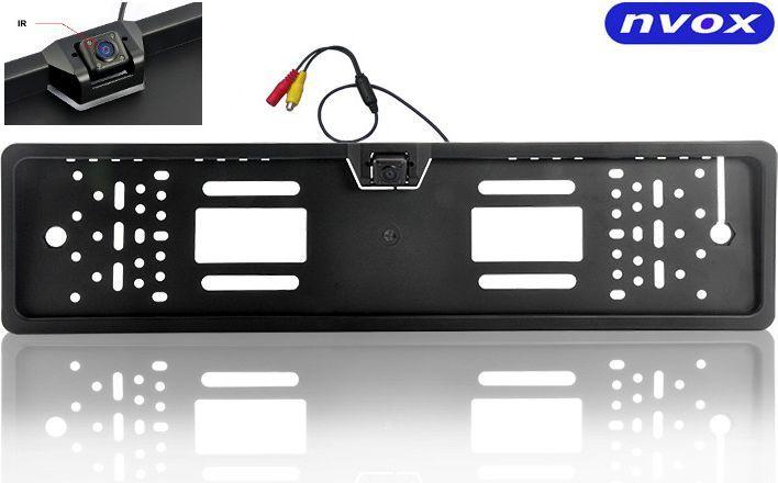 Nvox Samochodowa kamera cofania w ramce tablicy rejestracyjnej CCD 12V (RC 5072) 1