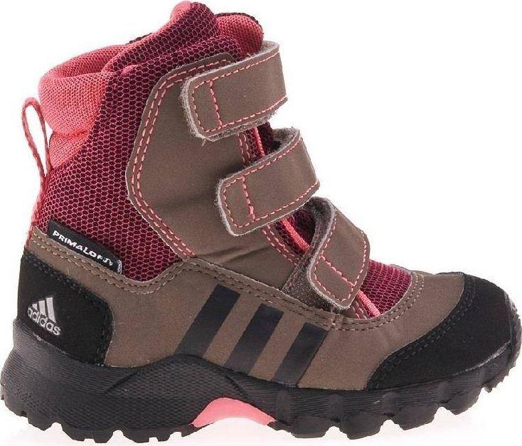 Adidas Buty dziecięce Cw Holtanna Snow brązowe r. 20 (G61394) 1